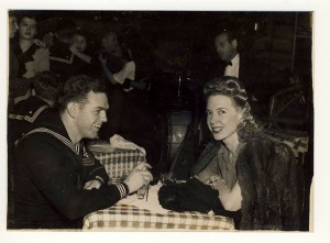 Phyllis Jeanne at the Stage Door Canteen
